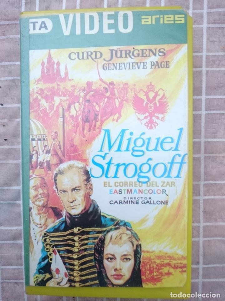 VHS - MIGUEL STROGOFF EL CORREO DEL ZAR - ALGO MAL ESTADO -VER FOTOS (Cine - Películas - VHS)