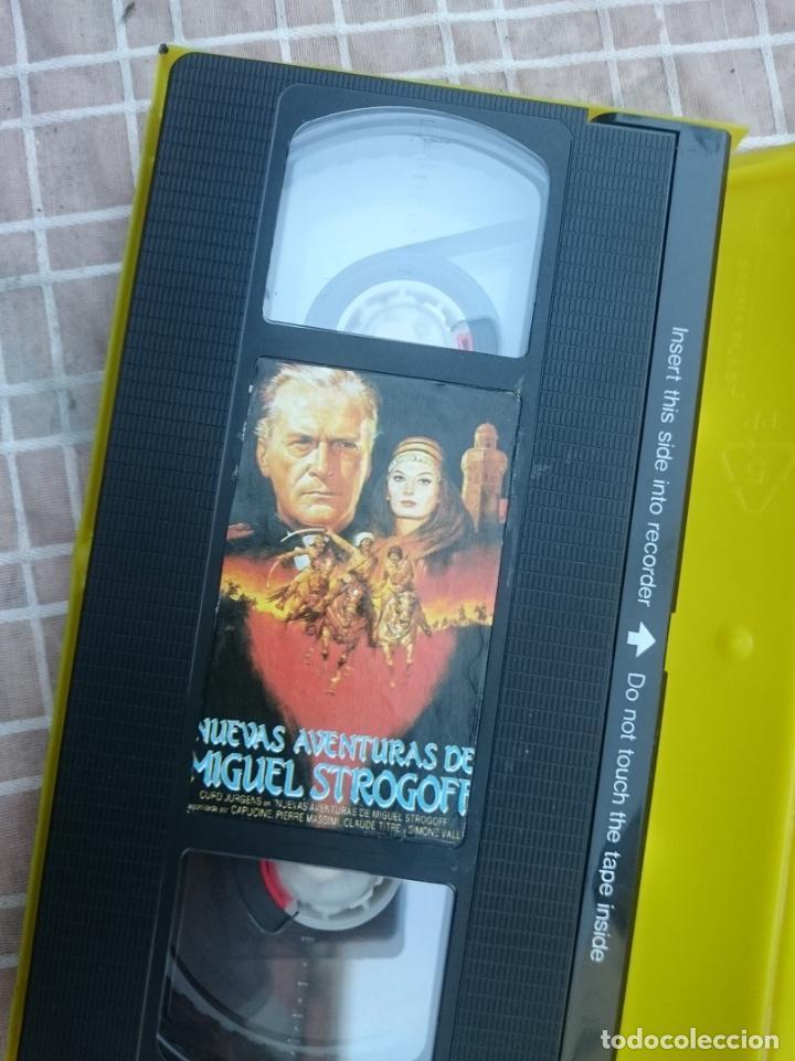 Cine: VHS - MIGUEL STROGOFF EL CORREO DEL ZAR - ALGO MAL ESTADO -VER FOTOS - Foto 3 - 147107638
