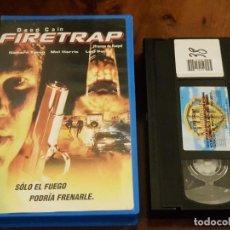 Cine: FIRETRAP - SOLO EL FUEGO PODRIA FRENARLE - HARRIS DONE - RICHARD TYSON , MEL HARRIS - 2001. Lote 147336158