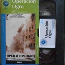 Cinema: TODOVHS: OPERACIÓN OGRO (GIAN MARIA VOLONTÉ, JOSÉ SACRISTÁN, ÁNGELA MOLINA, EUSEBIO PONCELA). Lote 147402094