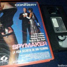 Cine: SPYMAKER- VHS- JASON CONNERY- CLONES DE JAMES BOND. Lote 147538797