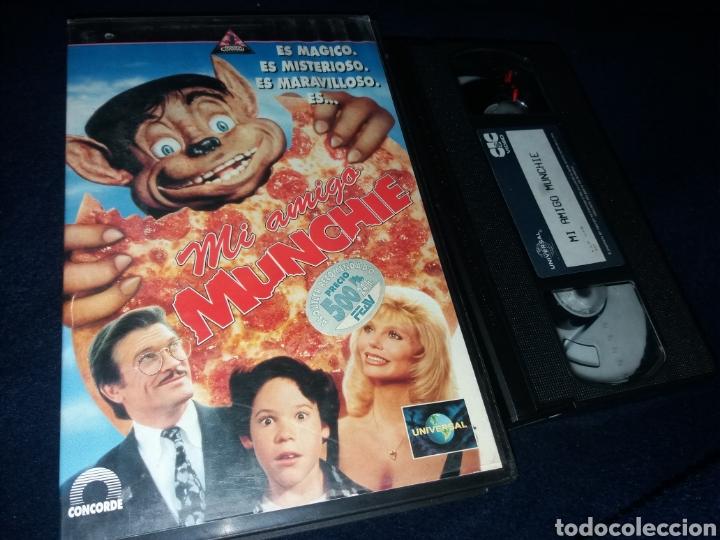 MI AMIGO MUNCHIE- VHS- JIM WYNORSKI- DESCATALOGADA (Cine - Películas - VHS)