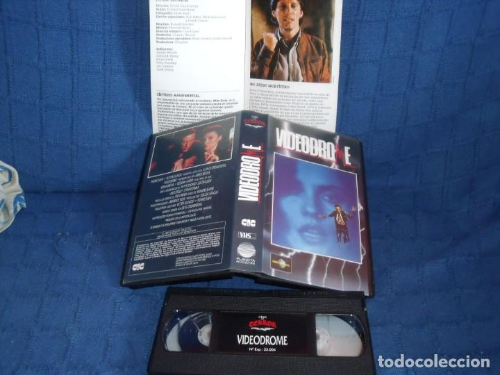 videodrome. vhs original - Comprar Películas de cine VHS en ...