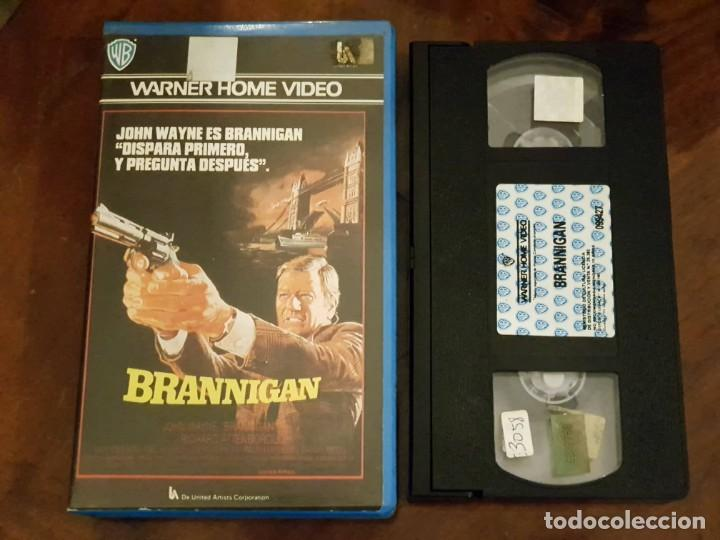 Cine: BRANNIGAN - DOUGLAS HICKOX - JOHN WAYNE , RICHARD ATTENBOROUGH - WARNER 1987 - Foto 1 - 147644906