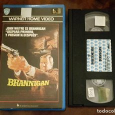 Cine: BRANNIGAN - DOUGLAS HICKOX - JOHN WAYNE , RICHARD ATTENBOROUGH - WARNER 1987. Lote 147644906