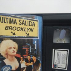 Cine: ULTIMA SALIDA BROOKLYN. VHS. 1 EDICION.. Lote 147706546