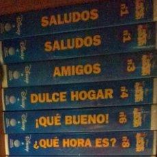 Cine: CINTAS VHS DE DIBUJOS DE DISNEY MICKEY MOUSE AMIGOS SALUDOS DULCE HOGAR. Lote 147788770
