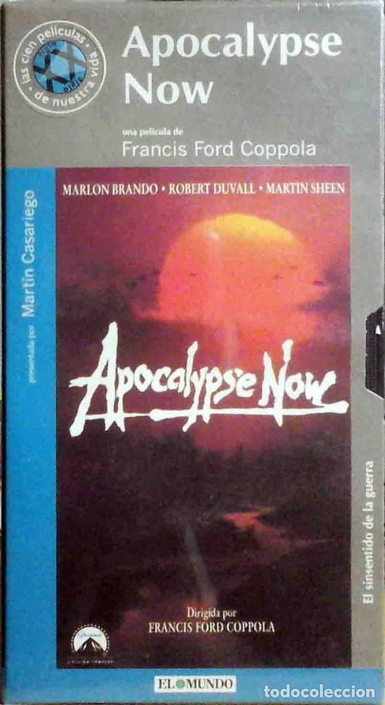 TODOVHS: PRECINTADO. APOCALYPSE NOW FRANCIS FORD COPPOLA (MARTIN SHEEN, MARLON BRANDO, ROBERT DUVALL (Cine - Películas - VHS)