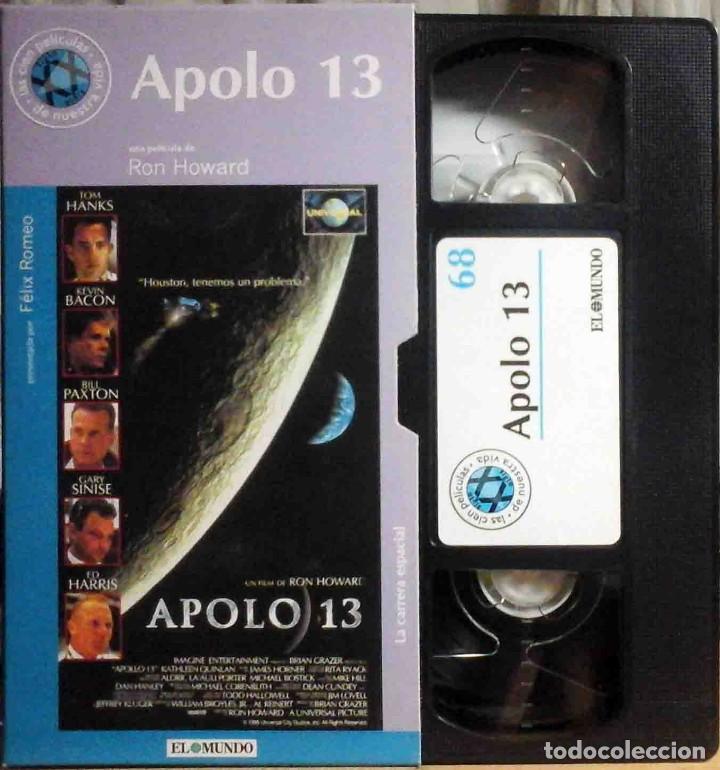 TODOVHS: APOLO 13 (TOM HANKS, KEVIN BACON, BILL PAXTON, ED HARRIS, GARY SINISE, KATHLEEN QUINLAN) (Cine - Películas - VHS)
