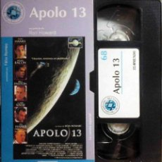 Cine: TODOVHS: APOLO 13 (TOM HANKS, KEVIN BACON, BILL PAXTON, ED HARRIS, GARY SINISE, KATHLEEN QUINLAN). Lote 147789058