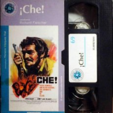 Cine: TODOVHS: ¡CHÉ! RICHARD FLEISCHER (OMAR SHARIF, JACK PALANCE, CESARE DANOVA, ROBERT LOGGIA). Lote 147789318
