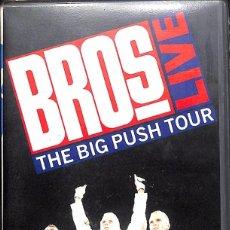 Cine: VHS BROS LIVE - THE BIG PUSH TOUR. Lote 147943206