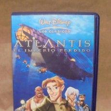 Cine: ATLANTIS EL IMPERIO PERDIDO - VHS - WALT DISNEY - LOS CLASICOS. Lote 147943450