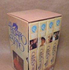 Cine: EL PAJARO ESPINO - PACK 4 VHS'S - SERIE COMPLETA. Lote 147944450