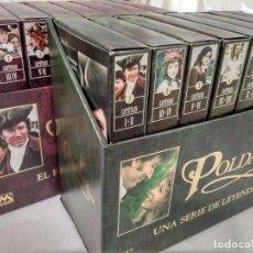 Cine: COLECCIÓN COMPLETA DE LA SERIE ''POLDARK'' EN VHS (1998). Lote 147950026