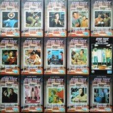 Cine: COLECCIÓN DE ''STAR TREK'': SERIE ORIGINAL Y PELÍCULAS (VHS). Lote 147950058