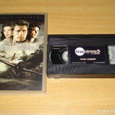 Cine: PEARL HARBOR. PELÍCULA VHS. COLECCIÓN GRAN ESTRENO 5 (PLANETA DE AGOSTINI). ESPAÑOL. Lote 148057994