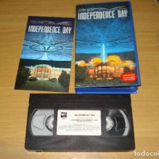 Cine: INDEPENDENCE DAY. PELÍCULA VHS + PORTADA HOLOGRÁFICA. 8420266041180. Lote 148058434