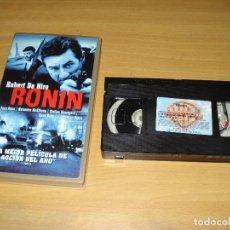 Cine: RONIN. PELÍCULA VHS. 8414927215393. Lote 148059018