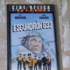 Cine: VENDO PELICULA VHS (ESCUADRÓN 633), VER MAS INFORMACIÓN EN 2ª FOTO INTERIOR.. Lote 148104678