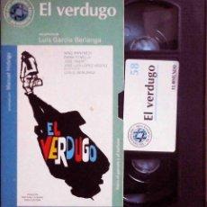 Cine: TODOVHS: EL VERDUGO. LUIS GARCÍA BERLANGA (JOSÉ ISBERT, NINO MANFREDI, EMMA PENELLA, JOSÉ LUIS LÓPEZ. Lote 148109730