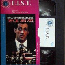 Cine: TODOVHS: F.I.S.T. SÍMBOLO DE FUERZA (SYLVESTER STALLONE, ROD STEIGER, PETER BOYLE, MELINDA DILLON). Lote 148109906