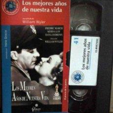 Cine: TODOVHS: LOS MEJORES AÑOS DE NUESTRA VIDA. WILLIAM WYLER (DANA ANDREWS, FREDRIC MARCH, MYRNA LOY). Lote 148110638