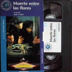 Cine: TODOVHS: MUERTE ENTRE LAS FLORES. HERMANOS COEN (GABRIEL BYRNE, MARCIA GAY HARDEN, ALBERT FINNEY). Lote 148110682