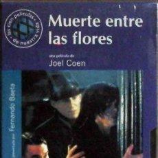 Cine: TODOVHS: PRECINTADO. MUERTE ENTRE LAS FLORES. HERMANOS COEN (GABRIEL BYRNE, MARCIA GAY HARDEN). Lote 148110686