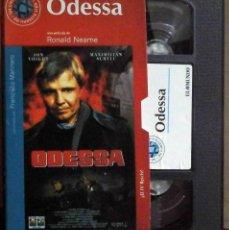 Cine: TODOVHS: ODESSA (JON VOIGHT, MAXIMILIAN SCHELL, MARIA SCHELL, MARY TAMM, DEREK JACOBI, PETER JEFFREY. Lote 148110694