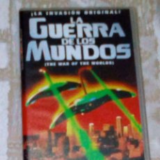 Cine: VENDO PELICULA VHS (LA GUERRA DE LOS MUNDOS), VER MAS INFORMACIÓN EN 2ª FOTO INTERIOR.. Lote 148110934