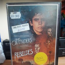 Cine: THE OUTSIDERS (REBELDES) VHS. Lote 148157468