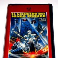 Cine: EL GUERRERO DEL MUNDO PERDIDO (1983) - DAVID WORTH ROBERT GINTY DONALD PLEASENCE VHS. Lote 148248014