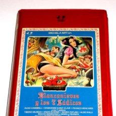 Cine: BLANCANIEVES Y LOS SIETE (7) SADICOS (1982) - MARIO BIANCHI MICHELA MITI ALDO SAMBRELL VHS. Lote 148248086