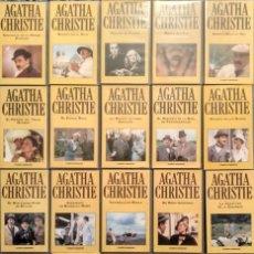Cine: SERIE ''AGATHA CHRISTIE'' - COLECCIÓN COMPLETA DE 40 CAPÍTULOS (VHS) - PLANETA DEAGOSTINI. Lote 148248490
