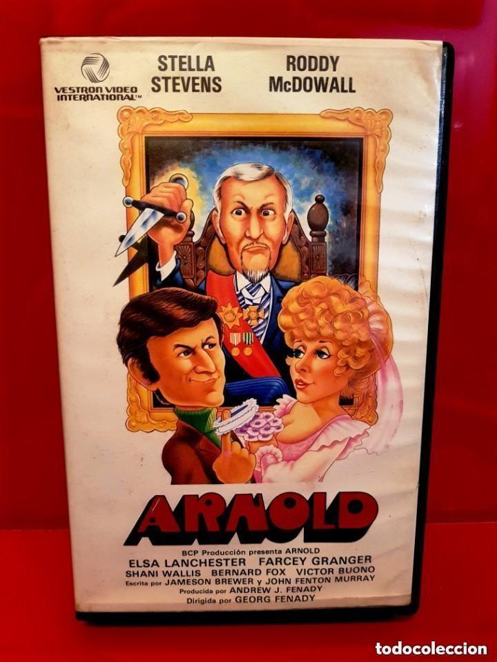 ARNOLD (1978) - COMEDIA DE TERROR CLASICA DE LOS 70 UNICA EN TC (Cine - Películas - VHS)