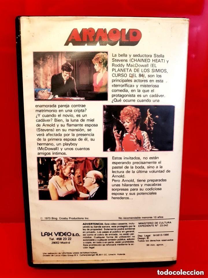 Cine: ARNOLD (1978) - COMEDIA DE TERROR CLASICA DE LOS 70 UNICA EN TC - Foto 2 - 148327278