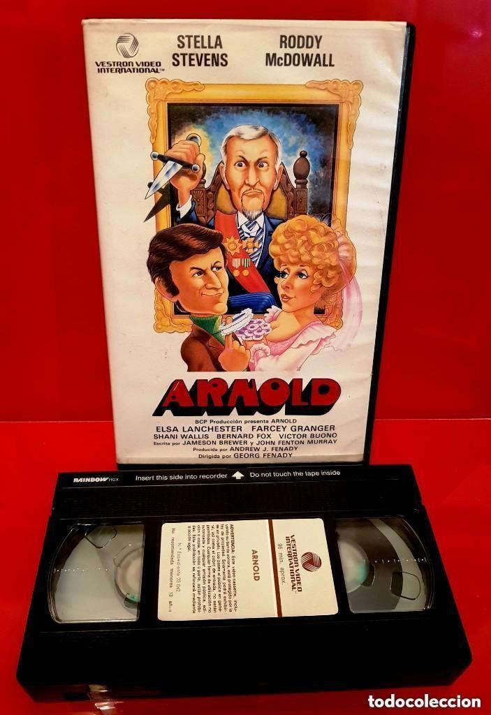 Cine: ARNOLD (1978) - COMEDIA DE TERROR CLASICA DE LOS 70 UNICA EN TC - Foto 3 - 148327278