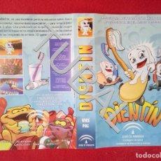 Cine: TUBAL DIENTIN VHS CARATULA DE LA PELICULA . Lote 148332762