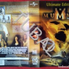 Cine: TUBAL THE MUMMY ULTIMATE EDITION VHS CARATULA ORIGINAL DE LA PELICULA . Lote 148333378
