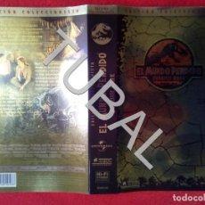 Cine: TUBAL EL MUNDO PERDIDO JURASSIC PARK VHS CARATULA ORIGINAL DE LA PELICULA. Lote 148333582