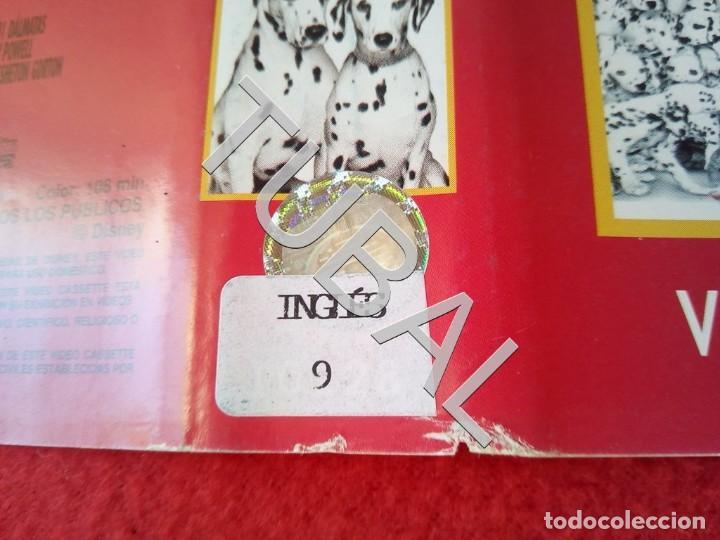 Cine: TUBAL 101 DALMATAS INGLÉS DISNEY VHS CARATULA ORIGINAL DE LA PELICULA - Foto 2 - 148335102