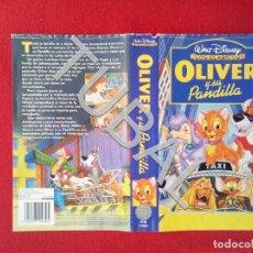 Cine: TUBAL OLIVER Y SU PANDILLA DISNEY VHS CARATULA ORIGINAL DE LA PELICULA . Lote 148335362