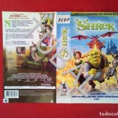 Cine: TUBAL SHREK VHS CARATULA ORIGINAL DE LA PELICULA . Lote 148335906