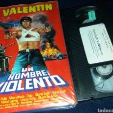Cine: UN HOMBRE VIOLENTO- VHS- VALENTIN TRUJILLO-. Lote 148476568