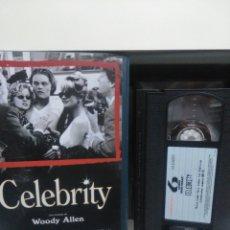 Cine: CELEBRITY. VHS (CAJA GRANDE).. Lote 148477566