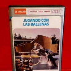 Cine: JUGANDO CON LAS BALLENAS (1984) - MUY RARA NUNCA ANTES EN TC!!. Lote 148504278