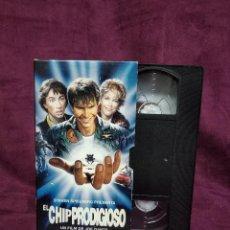 Cine: EL CHIP PRODIGIOSO, EN VHS, ORIGINAL, CON CARÁTULA. Lote 148531422
