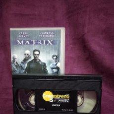 Cine: MATRIX, EN VHS, ORIGINAL, CON CARÁTULA. Lote 148531486
