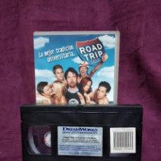 Cine: ROAD TRIP, EN VHS, ORIGINAL, CON CARÁTULA. Lote 148531606